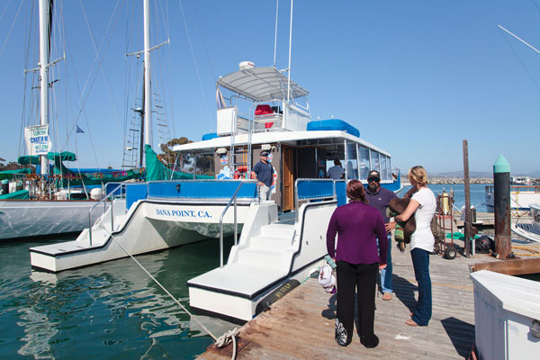 Boat charter from Dana Point